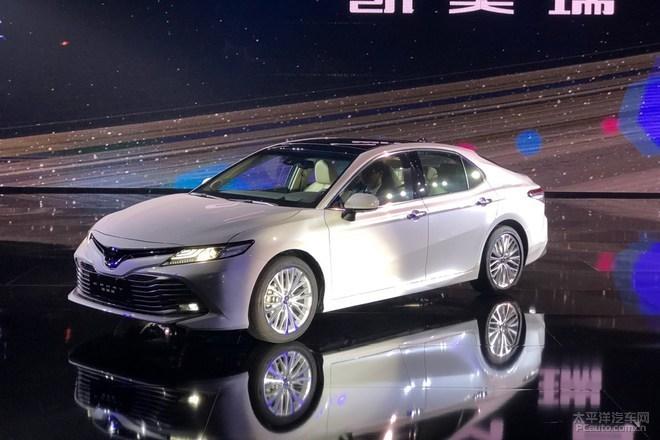 2017广州车展:丰田全新凯美瑞今日上市
