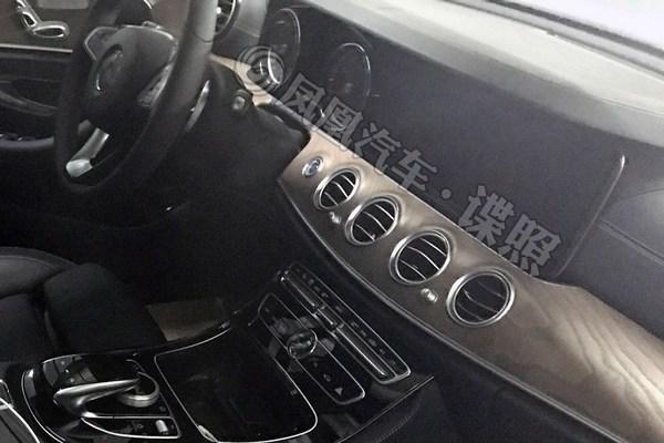 奔驰E180L谍照曝光