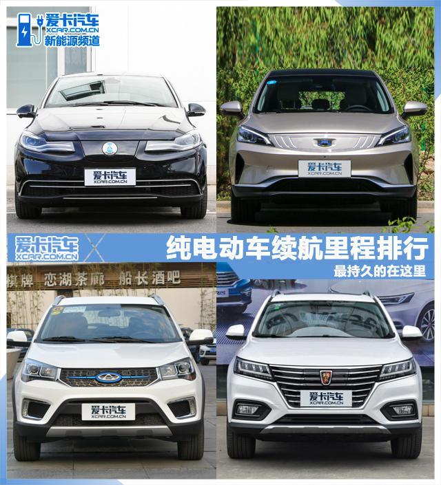 新能源车推荐;纯电动车;续航里程排行;许书怀