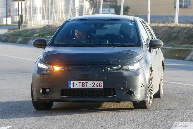 新一代丰田Auris路试 卡罗拉两厢版换代