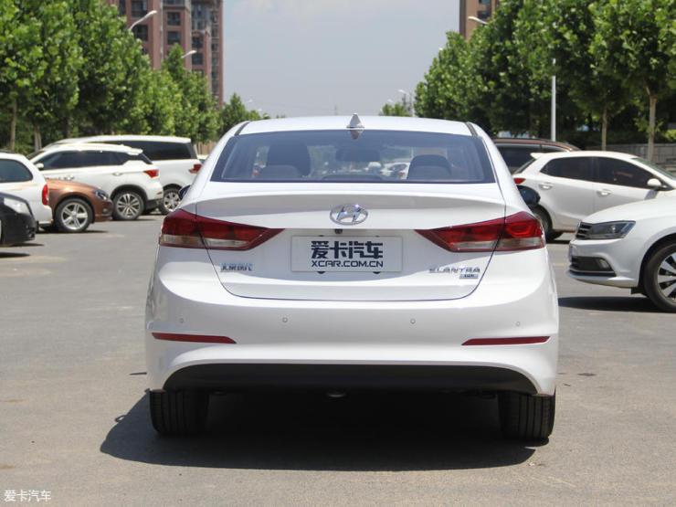 北京现代2018款领动