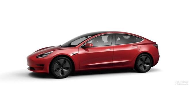 Model 3标准续航升级版上市 售37.7万起