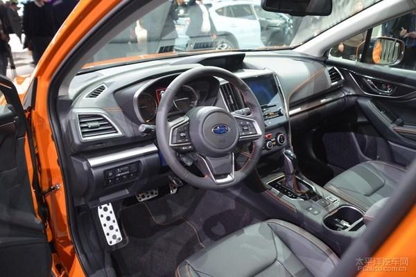 新一代斯巴鲁XV发布 全新平台原版风格