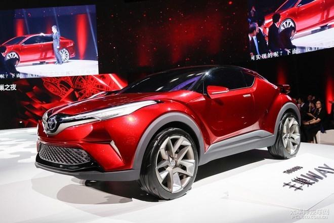 一汽丰田将于广州车展发布其首款小型SUV