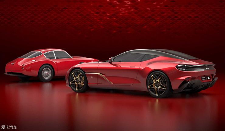 阿斯顿·马丁DBS GT Zagato车型官图发布