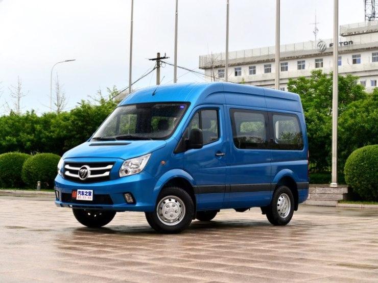福田汽车 图雅诺 2018款 2.0T短轴汽油G01