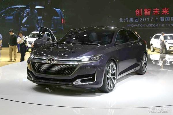 2017上海车展:北汽绅宝D70概念车发布