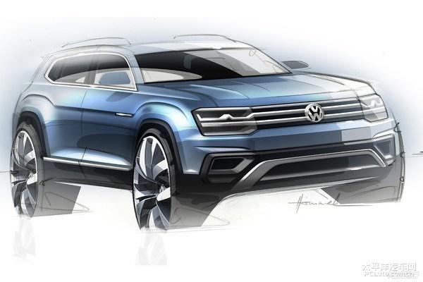 2018年推SUV 一汽 大众新车规划曝光高清图片