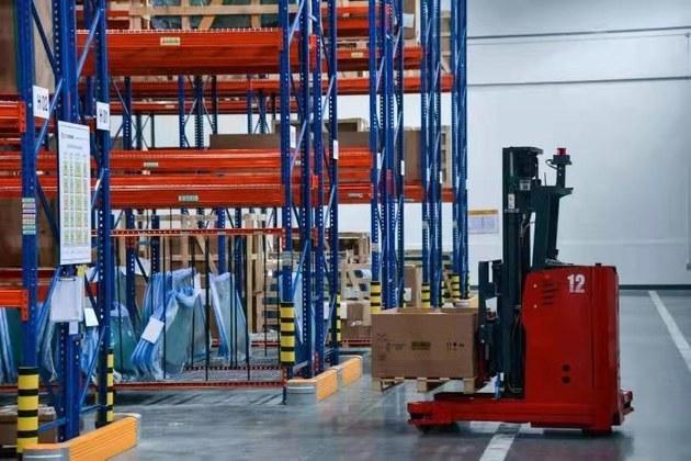 """BMW合肥零件配送中心正式开业 BMW在华第一个""""绿色""""库房"""