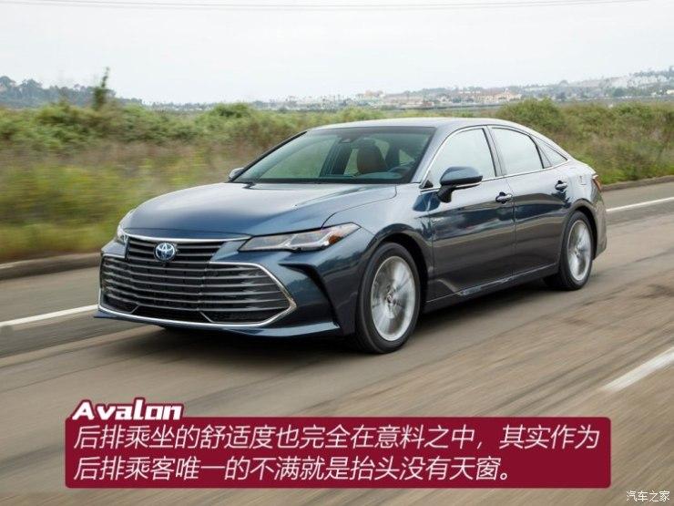 丰田(进口) 亚洲龙(海外) 2018款 基本型