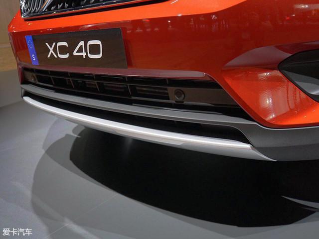 2017洛杉矶车展 沃尔沃XC40静评